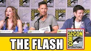 Том Фелтон, THE FLASH Comic Con 2016 Panel Highlights (Part 1) - Grant Gustin, Season 3