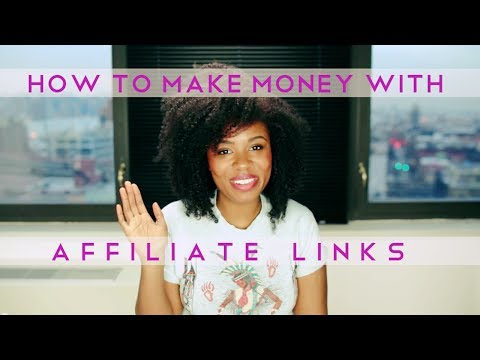 How to Make Money from Affiliate Links