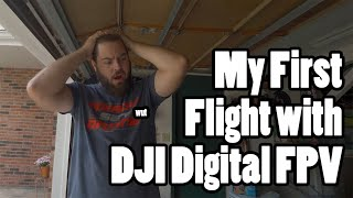 Reacting to my First Ever DJI Digital FPV Flight