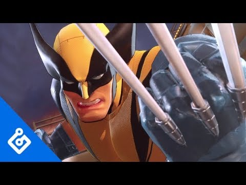 Gameplay Wolverine  de Marvel Ultimate Alliance 3: The Black Order