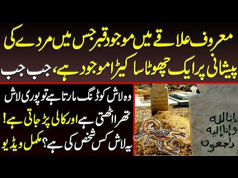 پاکستان کے معروف علاقے میں قبر میں بچھو ،یہ کس قسم کا عذاب ہے اللہ معاف کرے:ویڈیو دیکھیں