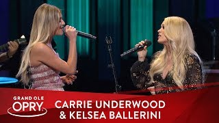 "Carrie Underwood & Kelsea Ballerini   ""Walkaway Joe"" 