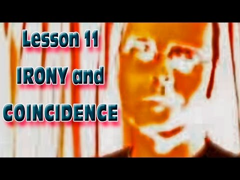 Learn English with Mr. Duncan - Lesson 11 (Irony and Coincidence)