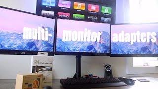 Multi-Display/Monitor Adapter - Mac & PC