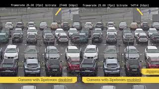 Примеры реализации технологии Axis Zipstream