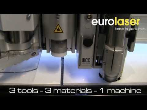 3 in 1 – three tools, one machine| Routing, laser and knife cutting