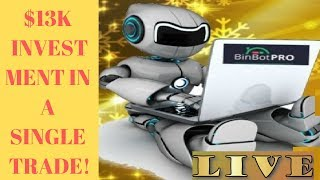 Binbot Pro 2019 Nerve Wrecking Session! $11000 In A Single Trade!!