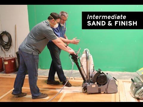 Intermediate Sand + Finish training at National Wood Flooring ...