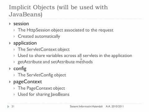 Progettazione di Applicazioni Web - lezione n. 02 del 25/11/2011