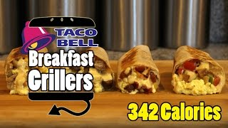 Taco Bell's Breakfast Grillers Bacon, Sausage, Potato Recipe - HellthyJunkFood