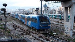 2018/03/22TunisianRailways:EMU&DMUatTunisStation チュニジア鉄道電車&気動車チュニス駅