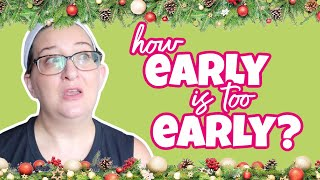 How Early Is Too Early To Decorate For Christmas? | Vlogtober 2020