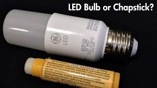 GE Bright Stik Review: LED Bulb or Chapstick?