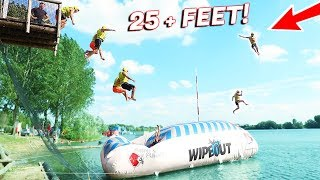 TOTAL WIPEOUT CHALLENGE ! INSANE BLOB LAUNCHES