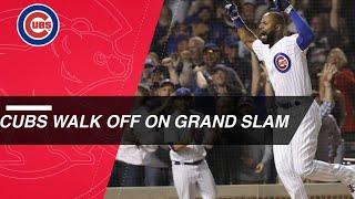 Heyward Belts A Walk Off Grand Slam To Complete 9th Inning Comeback
