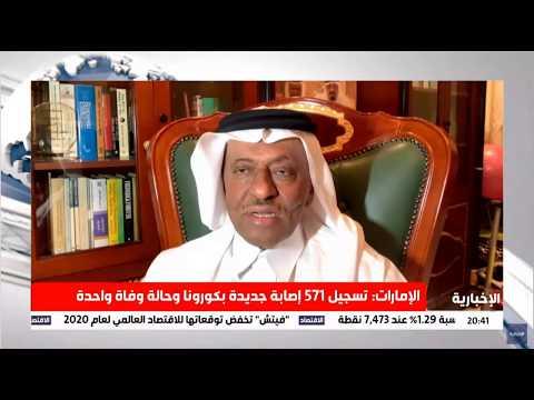 لقاء د.محمد الصبان في النشرة الاقتصادية بقناة الاخبارية حول اجتماع تحالف أوبك ++ القادم