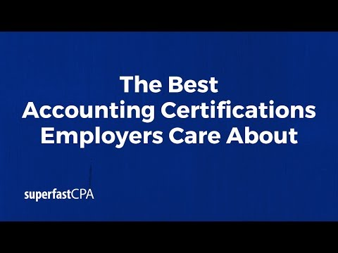 The Best Accounting Certifications Employers Care About - YouTube