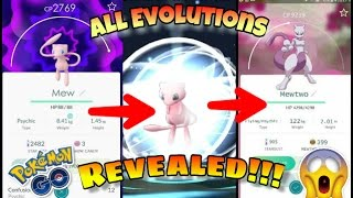 POKEMON GO - ALL EVOLUTIONS REVEALED!!! Including all Rare pokemon walkthrough HD✔