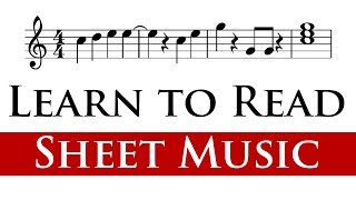 Reading Sheet Music for Beginners (2/4)