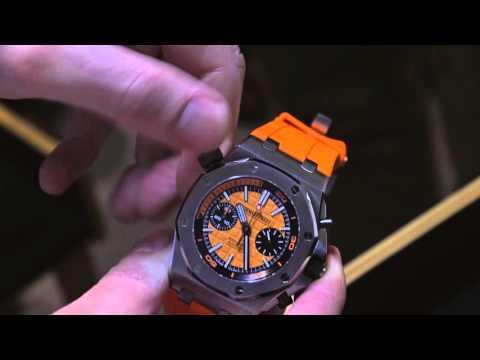 Audemars Piguet Royal Oak Offshore Diver Chronograph Watch Hands-On   aBlogtoWatch
