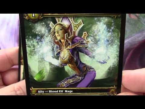 World of Warcraft TCG 07 March of the Legion