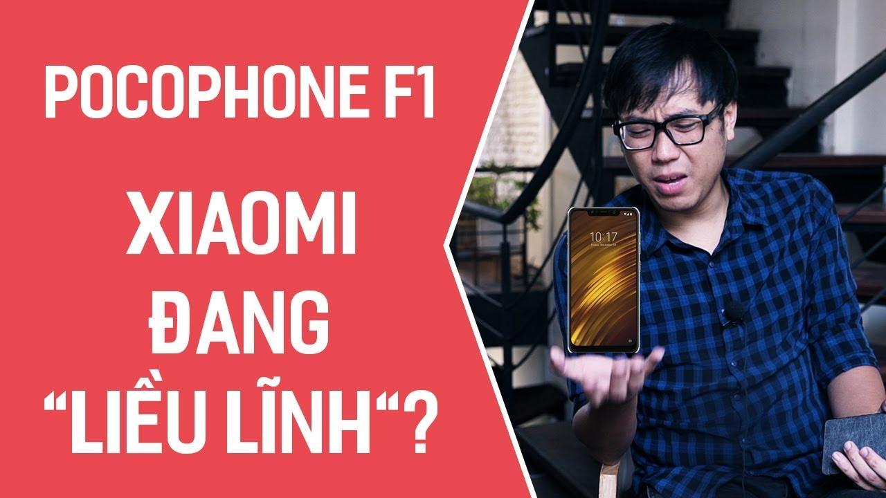 Pocophone F1: Một cách làm mới hình ảnh liều lĩnh của Xiaomi?