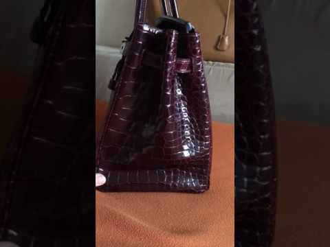 Hermes Birkin Croco Review