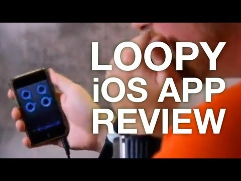 Hey Just J – Loopy App Review (Live Looping)