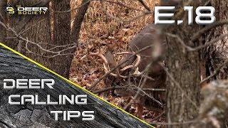 """Deer Calling Tips - E.18 """"Understanding Rattling 101"""""""