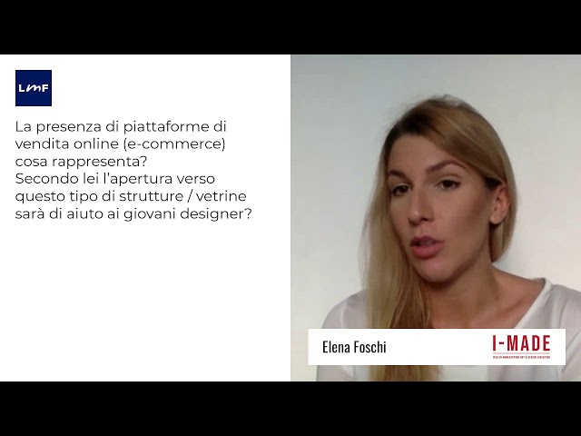 Il design italiano in mostra a Londra - Elena Foschi (I-MADE)