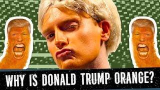 WHY is DONALD TRUMP Orange? (PARODY) - Philip Green