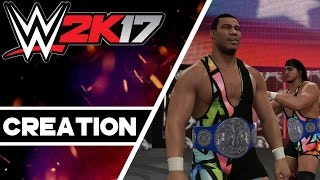 WWE 2K17 Creations: Smackdown Tag Team Championship! (Xbox One)