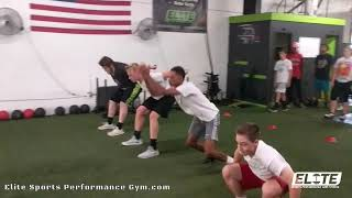 Athlete 3D Plyo Jumps