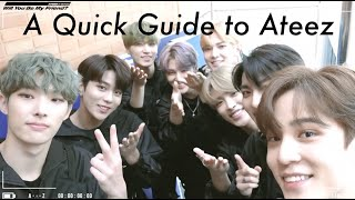 A Quick Guide To Stanning Ateez