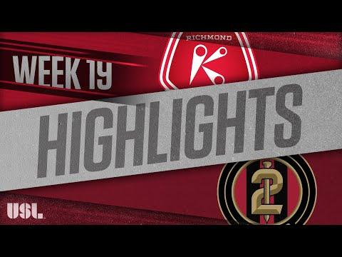 Ричмонд Кикерс - Atlanta United 2 1:1. Видеообзор матча 22.07.2018. Видео голов и опасных моментов игры