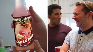 Pimple Popping Soda?! | Trying Weird Sodas!
