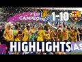 HIGHLIGHTS   Real Sociedad 1 - FC Barcelona 10   SUPER CUP FINAL