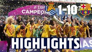 HIGHLIGHTS | Real Sociedad 1 - FC Barcelona 10 | SUPER CUP FINAL