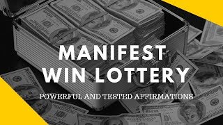 """MOST POWERFUL AFFIRMATION:  THAT WIN YOU THE JACKPOT LOTTERY (100% TESTED) """"Millionaire Mindset"""""""