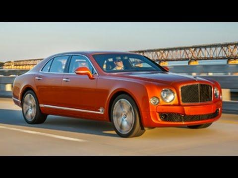 Bentley Mulsanne Speed driven