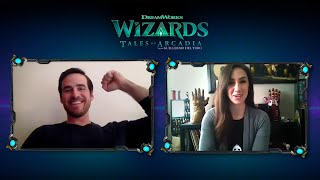 Wizards: Tales Of Arcadia Interview With Colin ODonoghue (DOUXIE) And Marc Guggenheim (Exec. Prod.)