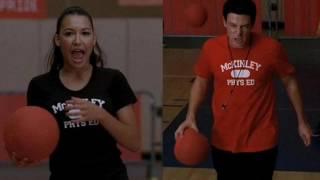 Finn & Santana -  Hit me with your best shot (chipmunks)