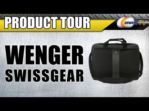 "Wenger Swissgear LEGACY 17"" Slimcase Computer Bag Product Tour - Newegg TV"
