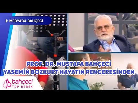 Kanal D – Prof. Dr. Mustafa Bahçeci Hayatın Penceresinden Programına Konuk Oldu