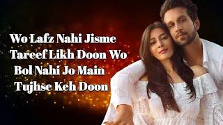 Shifa Ho Tum Lyrics - YouTube