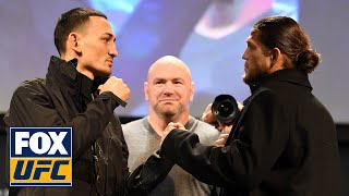 Max Holloway, Brian Ortega exchange words before UFC 231 | UFC on FOX