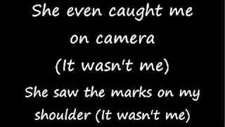 Shaggy-It wasn't me(lyrics)