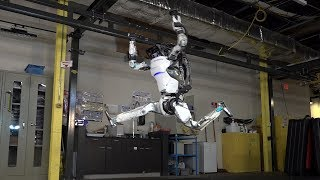 "(Video) ""Atlas the Robot shows off his Parkour moves"""