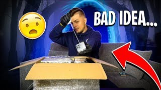 Scariest Dark-Web Unboxing (With Dybbuk Box) GONE WRONG