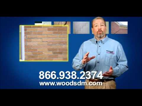 What are the signs of a foundation problem? Cracks can be in outside masonry or inside drywall. They can be in block or poured concrete. They can be vertical or horizontal, but they all have two things in common: they get worse if you ignore them, and they keep stealing value from your home until the cause is fixed. Stop letting your money fall through the cracks. Call Woods Basement Systems today and let the area's most trusted experts restore your home's value. Don't trust your home with anyone else.  We service Saint Louis, Missouri and cities in Illinois, such as Springfield, Champaign, Urbana and surrounding areas.